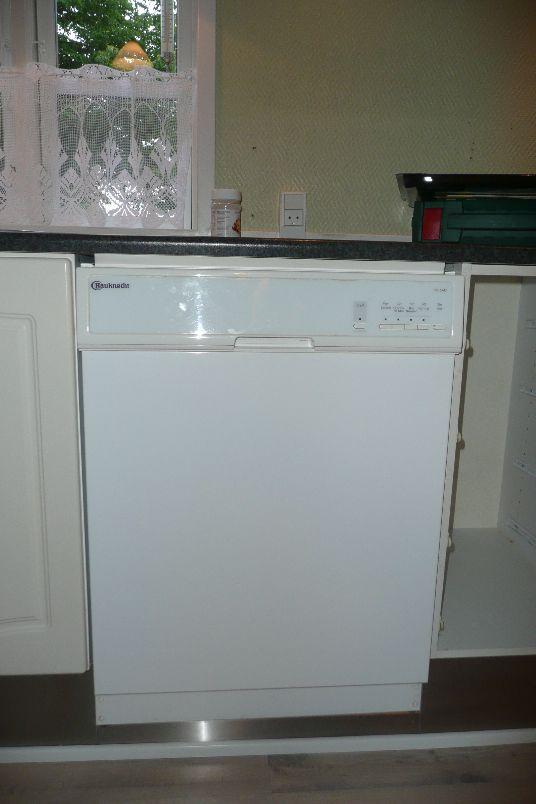 Den gamle opvaskemaskine