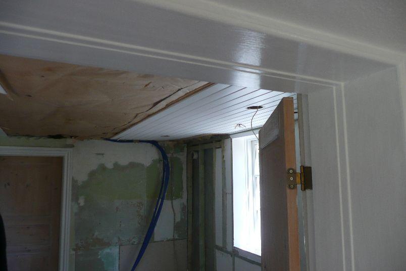 Loftet pilles ned