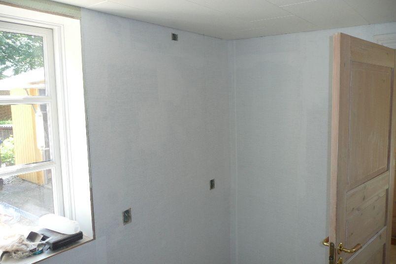 Glasvæv kommer på væggene