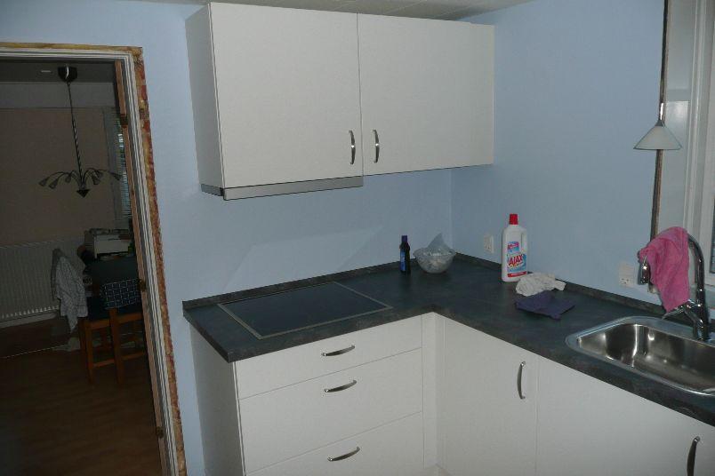Nyt køkken sættes op
